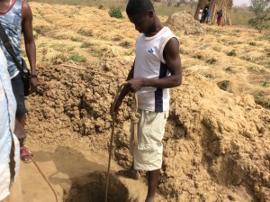 The old way of supplying water in the dry season.